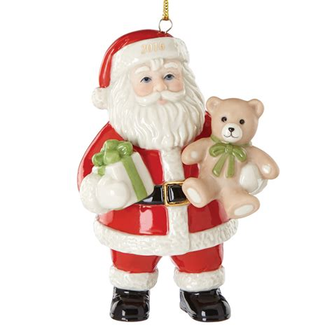 christmas ornaments santa lenox tidings santa 2016 lenox ornaments santa claus