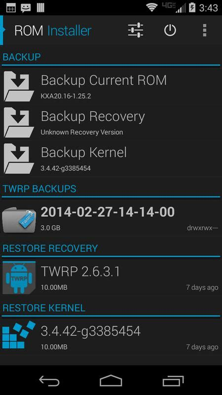 rom installer for android apk