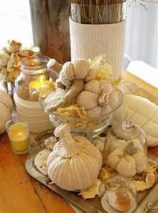 Herbst Dekoration Tisch : basteln mit wolle herbst dekoration tisch set k rbisse windlichter k rbisse selber machen ~ Frokenaadalensverden.com Haus und Dekorationen