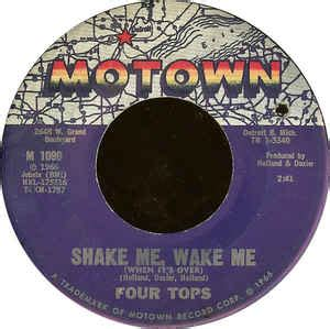 Four Tops  Shake Me, Wake Me (when It's Over)  Just As