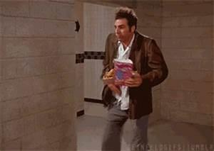 Kramer from Seinfeld GIFs - Thrillist