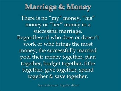 Married To My Money Quotes