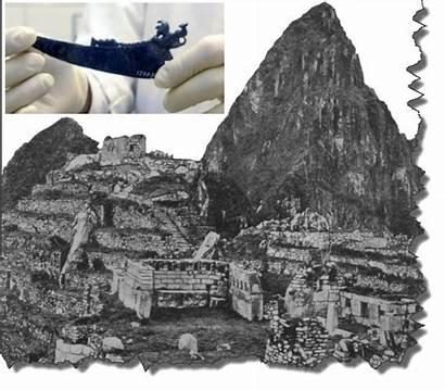 Picchu Machu 1911 Artifacts Bingham Hiram University