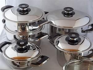 Amc Töpfe Neu : amc set pentole 12 pezzi secuquick acciaio inox da cucina arondo ebay ~ Sanjose-hotels-ca.com Haus und Dekorationen