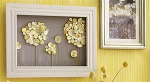 Cadre Photo Profond : un cadre d cor avec des boutons prima ~ Teatrodelosmanantiales.com Idées de Décoration