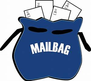 Mail Bag Clipart   Letters