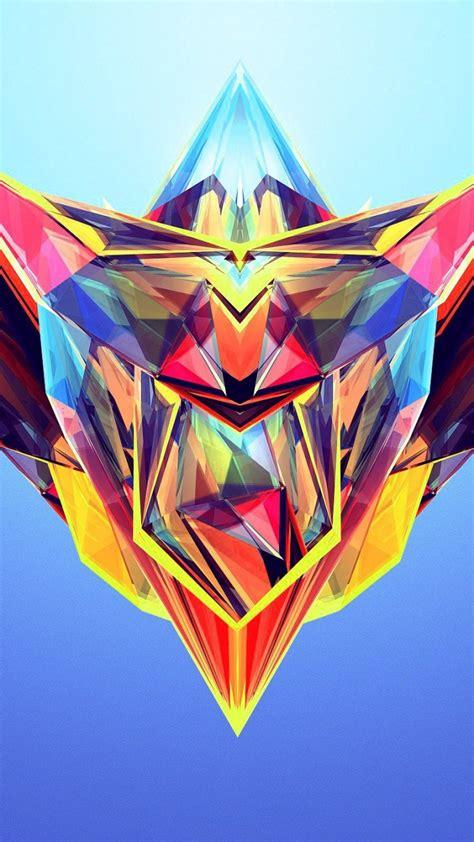 wallpaper hd abstract polygon abstract