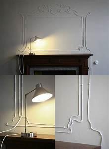 Lampenkabel Decke Verstecken : aufputz kabel verkleiden versch nern ~ Sanjose-hotels-ca.com Haus und Dekorationen