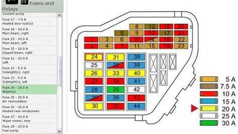Mk1 Golf Fuse Box Location by Vw Scirocco 2011 Fuse Box Diagram