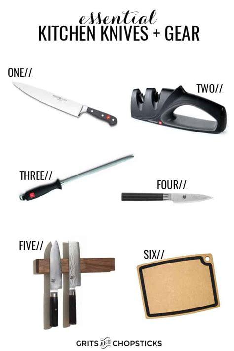 Essential Kitchen Knives + Gear, Part 1  Grits & Chopsticks