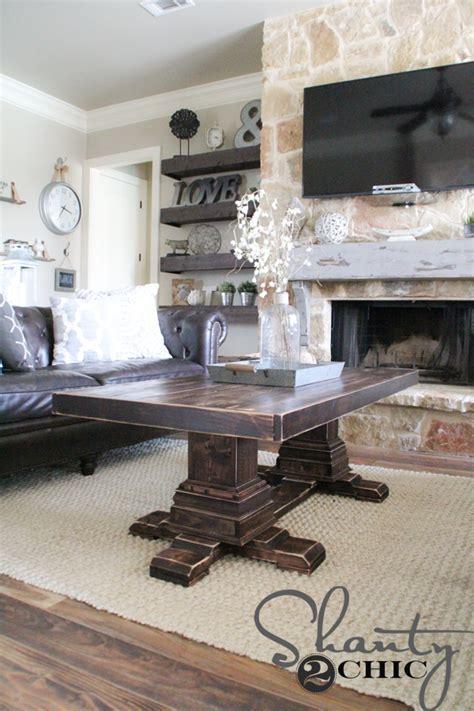 Diy farmhouse coffee table (ikea hack). DIY Round Table - As Seen on HGTV Open Concept - Shanty 2 Chic