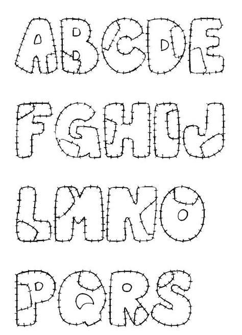 molde de letras graffiti