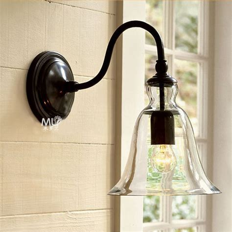 22cm vintage american style e27 modern brief bed lighting