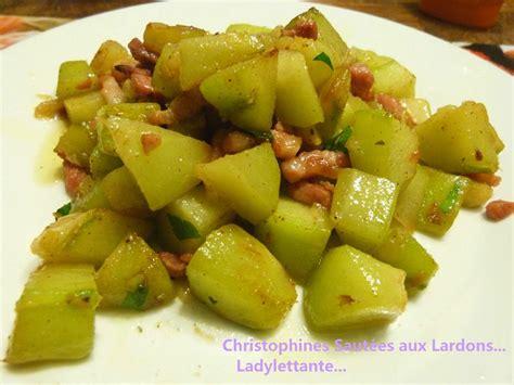 cuisiner des christophines la chayotte ou christophine ladylettante