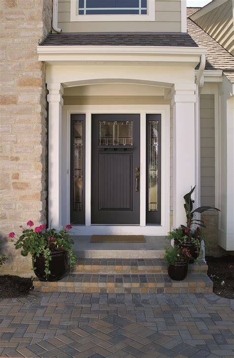 therma tru entry doors look for bold bright entry doors in 2014 remodeling