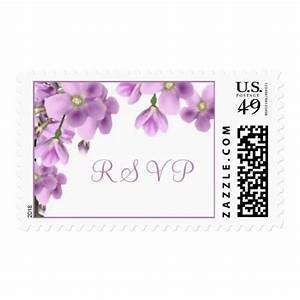 Wedding flowers rsvp postage stamps zazzle for Wedding rsvp cards stamps