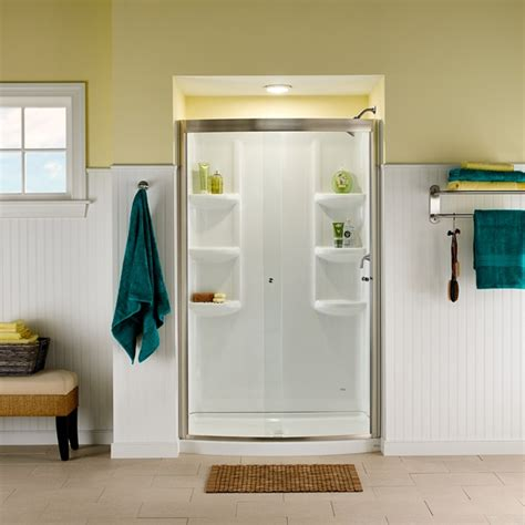American Shower And Bath Website by Ovation Curved 48 Inch Shower Base American Standard