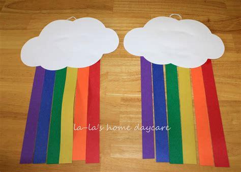 St. Patrick's Day Paper Rainbow's