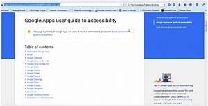 Accessing Google Drive With A Screen Reader