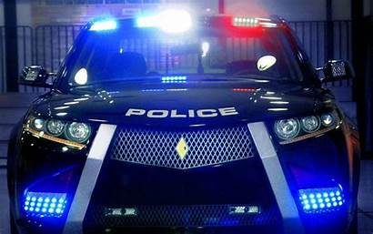 Cop Lights Police Enforcement Law Wallpapers Coverage