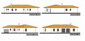 Plan Facade Maison : grande maison contemporaine de plain pied provence maisons ~ Melissatoandfro.com Idées de Décoration
