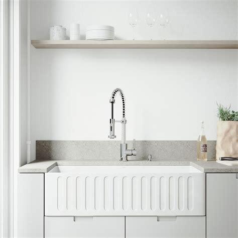 color kitchen sinks vigo all in one matte farmhouse 36 in 0 2315