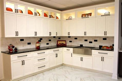 snow white sweet home cabinets