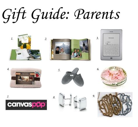 gifts for parents holiday ideas pinterest