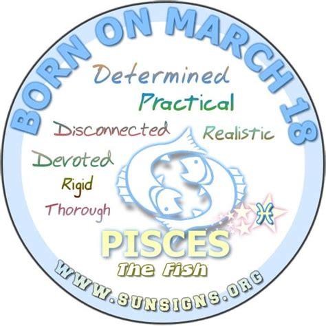 March Zodiac Horoscope Birthday Personality Sunsigns
