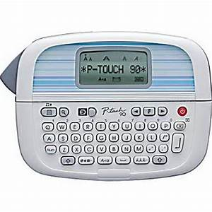 brother p touch pt 90 personal label maker With label maker large letters