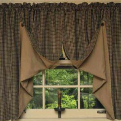 Primitive Living Room Curtains by