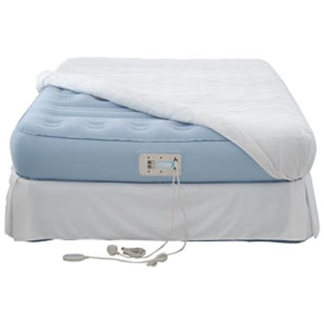 aerobed platinum raised inflatable guest bed kingsize