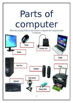 parts  computer  deepika subnani teachers pay teachers