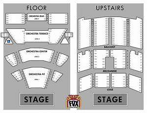 Fox Theater Oakland Seating Chart Fox Theatre Atlanta Seating Chart With Seat Numbers Www