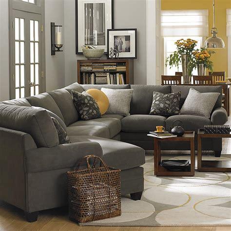 left cuddler sectional modular sofa from bassett furniture