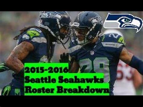 seattle seahawks roster breakdown madden