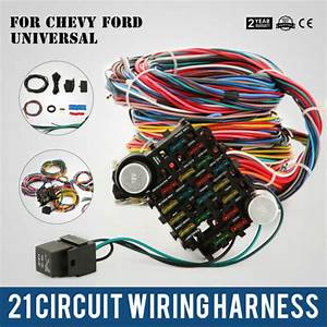 21 Circuit Ez Wiring Harness Chevy Universal Great Factory