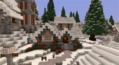 twisted christmas minecraft building