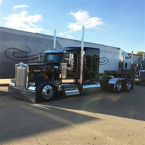 big kenworth trucks kenworth custom w900l semi crazy pinterest rigs