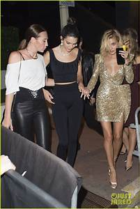 Kendall Jenner Parties With Rumored Beau AAP Rocky In