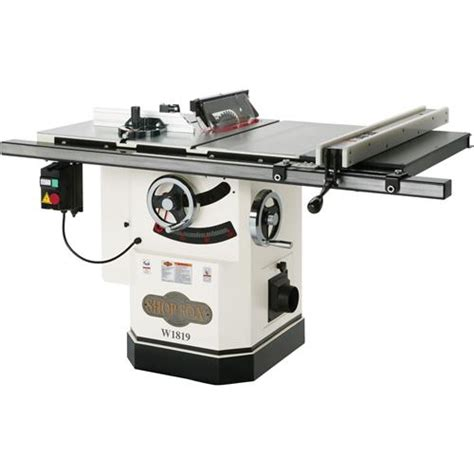 delta cabinet saw for sale shop fox w1819 cabinet saw with riving knife 10 quot
