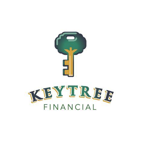 key tree financial logo design logo cowboy