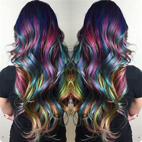 rainbow hair color 25 impulsive rainbow hair color ideas hairstyle for