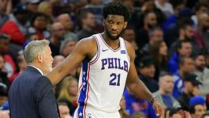 Joel Embiid injury update: 76ers star (back) questionable for Saturday's game against Thunder ...