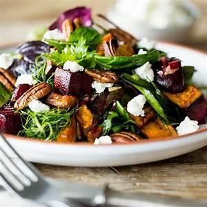 Salat Selber Anbauen : s kartoffel salat mit rote bete ziegenk se und pekann ssen ~ Markanthonyermac.com Haus und Dekorationen