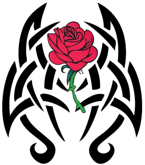 Tribal Rose Png  Clipart Best