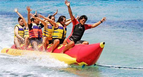 bali banana boat riding bali marine water sport activities
