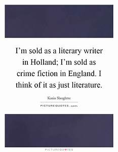 Crime Fiction Quotes & Sayings | Crime Fiction Picture Quotes