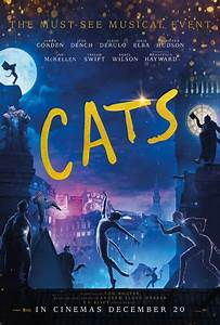 cats was only finished on sunday the day before its