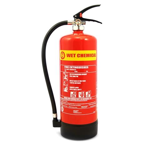 wet chemical extinguisher mwf  litre walker fire